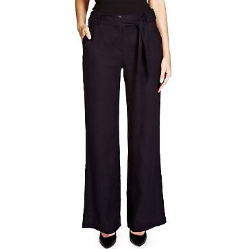 Marks and Spencer Per Una Roma Linen Trousers