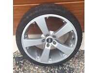 5 Audi A4 Rims with great condition tyres 235/35ZR19