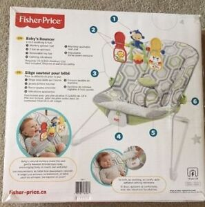 Fisher price baby bouncer Edmonton Edmonton Area image 2