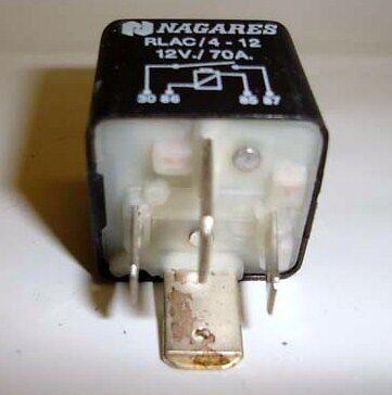 Relé Separador Baterías Nagares 70A 12v Interruptor Rele RLAC/4-12