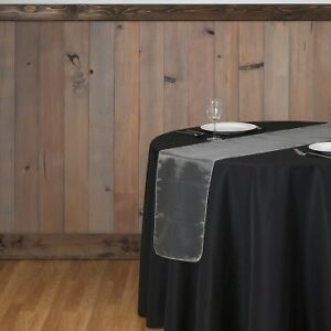 Organza Table Runners and Tablecloths