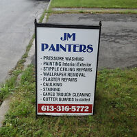 JM PAINTERS ( ) CALL OR EMAIL  ) 613-316-5772