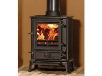 Stovax Brunel 1a mutifuel stove woodburner 5kw