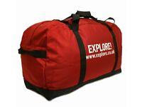 Explore kit bag - 80 litre - unused.