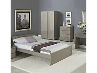 LPD Puro 4 Drawer Chest - Stone