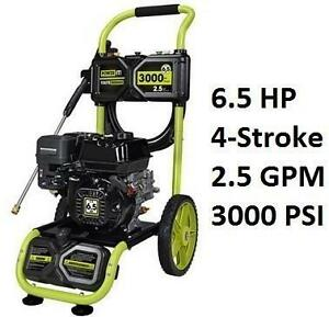 NEW* POWER IT! GAS PRESSURE WASHER 3000 PSI - 6.5HP 106885216