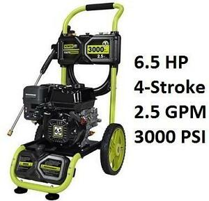 NEW* POWER IT! GAS PRESSURE WASHER 3000 PSI - 6.5HP 104054870