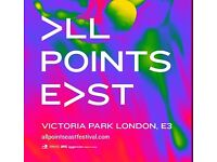 All Points East Saturday VIP ticket x 4