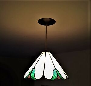 Antique glass lamp shade kijiji in ottawa gatineau area buy stained glass ceiling or lamp shade mozeypictures Images