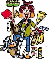 IS YOUR HOUSE CLEANING FALLING BEHIND?