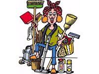 BABYSITTING, HOUSE CLEANING, LAUNDRY, IRONING & LIGHT GARDENING