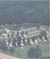 Trailer Park / Campground in north Durham at Kawartha border