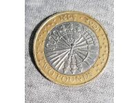 Guy Fawkes 2 pound coin