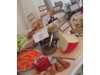 Cheese Cart Candy Cart & Cheese Cart package hire sweets & cheeses weddings parties