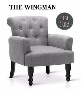 Luxury Linen Armchair - Over 50% OFF RRP CLEARANCE SALE Sydney City Inner Sydney Preview