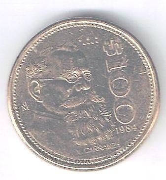 1984 100 Peso Mexico Ebay
