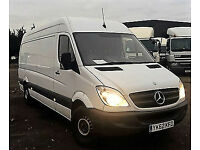2012 (62) MERCEDES-BENZ SPRINTER 2.1TD 316 CDI LWB HI ROOF PANEL VAN LOW MILEAGE