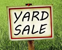 2 Day Yard Sale Sat Sept 19th and Sun Sept 20th