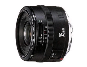 Objectif 35mm canon