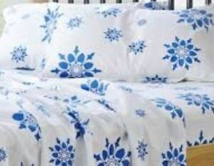 Bed Sheet-Real 100% Cotton-4 Piece Sets-NOT Micro Fiber