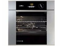 DE DIETRICH DOP705 PYROLYTIC BUILT IN OVEN - STAINLESS STEEL FINISH