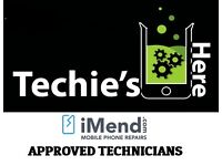 From £54.99 iPhone 4 4S 5 5C 5S 6 6S & PLUS Screen Repair Service, WE COME TO YOU!