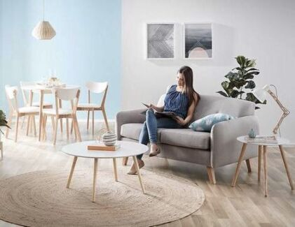 New furniture package incl dining chairs, coffee table and lamp table