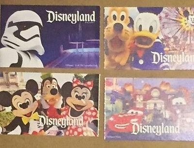 4 Disneyland Park 1 Day Peak Tickets