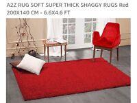 Large rug shag pile. Very luxurious.