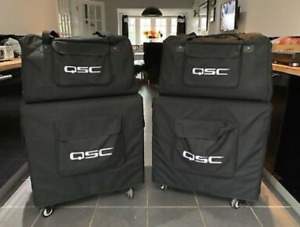 QSC K12 K12 SUB SPEAKERS FULL KIT FOR SALE MINT