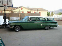 WANTED 1960 OR 1959 CHEVROLET OR OLDSMOBILE WAGON FOR PROJECT...