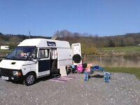 Renault Traffic camper van 2lt diesel