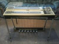 Fender double neck pedal steel guitar