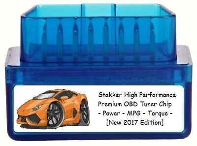 Stakker High Performance Chip Tuner [ Add 150 HP 5 MPG ] OBD Tuning for -
