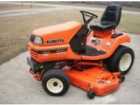 KUBOTA - MOWER DECK - WANTED - mower deck for Kubota model G2160