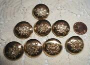 Vintage Gold Buttons