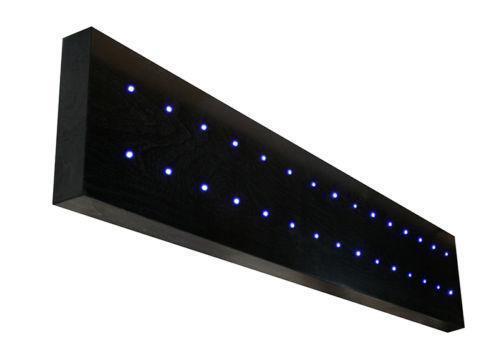 floating shelves with lights ebay. Black Bedroom Furniture Sets. Home Design Ideas