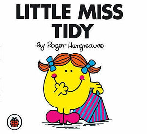 LITTLE MISS TIDY by Roger Hargreaves Mr Men & Little Miss