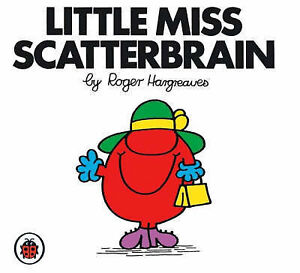 Little Miss Scatterbrain By Roger Hargreaves- New