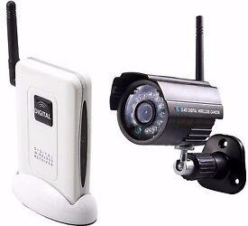 Brand new SPy Cameras 2.4Hz Digital wireless kit cameras