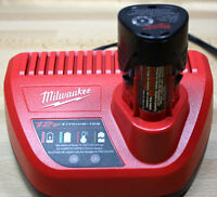 BRAND NEW 12V BATTERY AND CHARGER