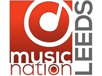 Want Music Lessons? Try Music Nation Leeds (Guitar, Bass, Piano, Drums, Singing)