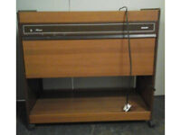 Retro 1970's working electric hostess trolley