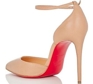 Replica Christian louboutin 'uptown' Ankle pumps BEIGE Glebe Inner Sydney Preview