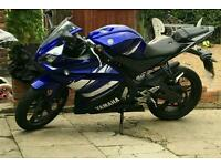 Yamaha yzf r125. 2015. Parts Only.