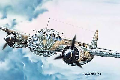 Italeri 1:72 1018: Junkers Ju-88 A-4 Kit di Costruzione