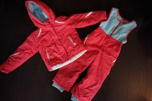 Columbia Girls Size 4T Snow Suit