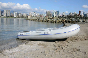 2018 New Aquamarine 10 ft inflatable boat with ALUMINUM FLOOR