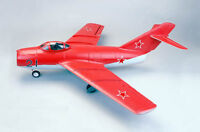 RC 4CH Brushless EDF Mig 15 Jet Airplane No Radio BRAND NEW