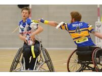 New Wheelchair Rugby Team Looking for Players
